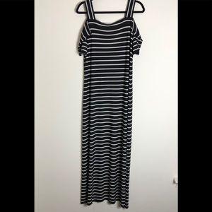 Cold shoulder Maxi dress from Nine West